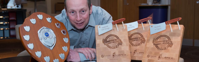 Award Winning sausages Uptons butcher