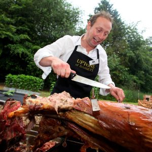 Hog roast party catering hampshire