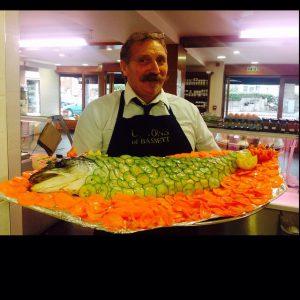 uptons catering smoked salmon