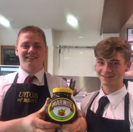 Uptons are traditional pork pie & young sausage maker 2016 champions